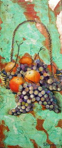 bodegó raïm 3 - bodegón uvas 3