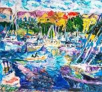 Riga. Boats