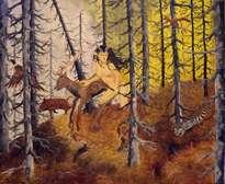 fuego en el bosque de la pastora