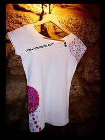 camiseta rosetón