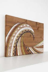 ola de madera