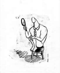 el hombre del espejito