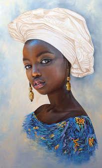 Prosperity portrait #2 (African Girl 106)