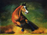 un caballo de fuerza