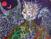 stern-bilder: erdzeit/constellation: earth time/constelación: tiempo tierra