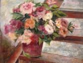 flores en tonos calidos