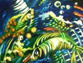 imagenes en el fondo del marII