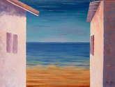 casas y mar