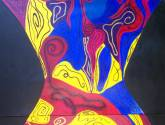abstracto, diptico