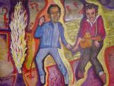 Miguel Ríos y Elvis Presley en concierto