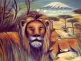 los leones del kilimanjaro