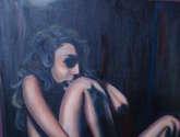 saban arte  -  hermanosaban - saban pinturas - guatemala - oscuridad