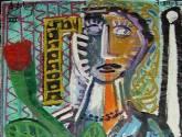 mujer y flor 16