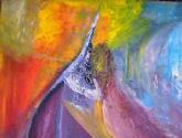 escada pico do sucesso pintores davinci