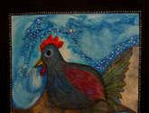 una gallina o un gallo...