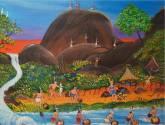 indìgenas mineros en el rio la paragua