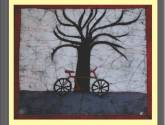 batik. bici-árbol