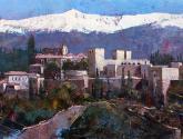 panoramica de la alhambra