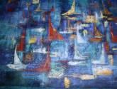 abstraÇÃo em azuis