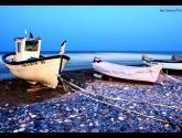 playa las negras( almeria ) andalucía