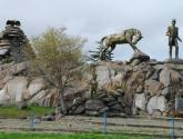 monumento a san martín, ciudad de tandil, argentina