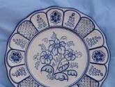plato de ceramica de talavera