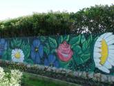 flower power decoracion graffiti jardin