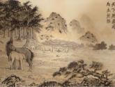 caballos en la montaña