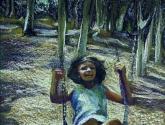 UNA NIÑA EN EL COLUMPIO Girl on the Swing