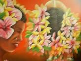 mujeres con flores #2.