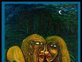 fuera del paraiso 2003 (original 7'x60''; óleo/canvas. colecc. priv.)®