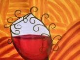 copa de vino borracha