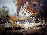 beauty of bengal village
