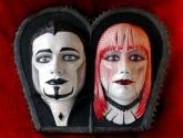 los novios vampiros góticos