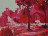 Paisaje en rojo nº4
