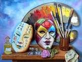 las mascaras venecianas