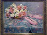 flores con zapatillas de balet