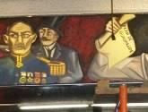 bicentenario y centenario en el metro zócalo 6