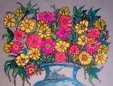 jarron con flores 10