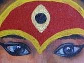 los ojos de la diosa viviente