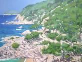 paisaje de la costa brava