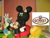 tarta de mickey y donald