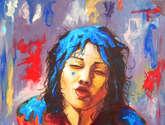 un beso de colores