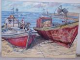valizas.barcos pesqueros
