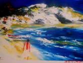 romántico y el mar