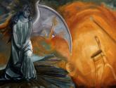 el angel caido esperando la oportunidad de hacer algo inútil