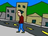 caminando por las calles