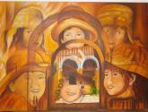 homenaje a pintor peruano