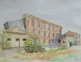 la vieja fábrica de harinas