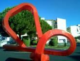 cruce de caminos para escultura escultura en plasencia